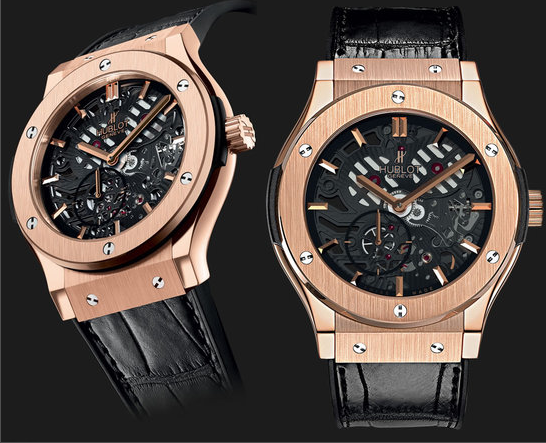Haute Time: Hublot Reveals Extra-Thin Skeleton Watch
