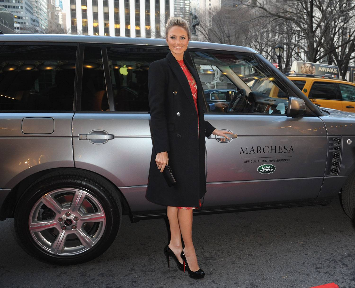Land Rover Sponsors the Marchesa Fall 2012 Show Held at the Plaza