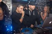 Wilmer Valderrama on stage at Hyde Bellagio with DJ triple XL.