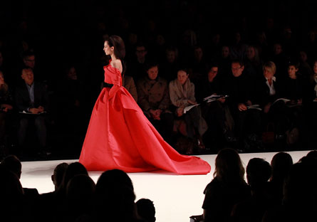 Haute 100 New York Update: Carolina Herrera Widely Praised for her Fall 2012 Show