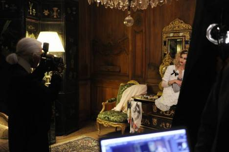 Karl Lagerfeld Directs Mini Silent Film for Chanel