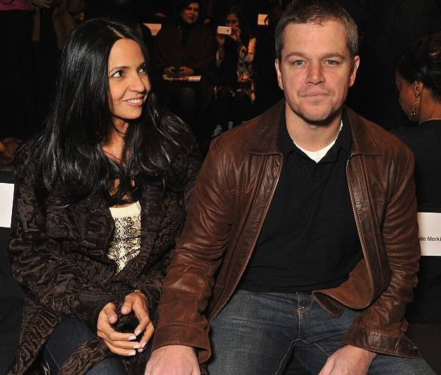 Haute 100 Miami Update: Matt Damon Attends His First-Ever Runway Show At Mercedes-Benz Fashion Week in New York City