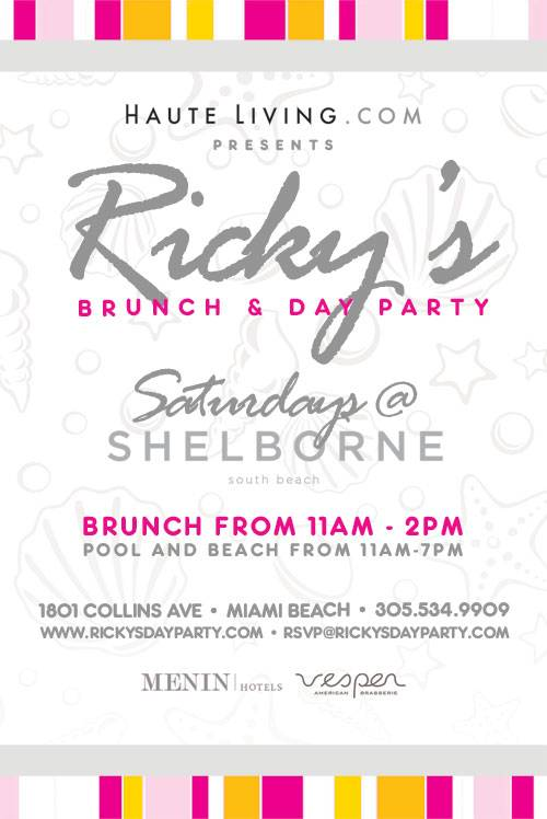 Haute Living presents Ricky's at the Shelborne
