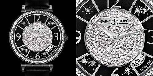 Saint Honore Opera Ladies Watch Lavishes Women with Diamonds