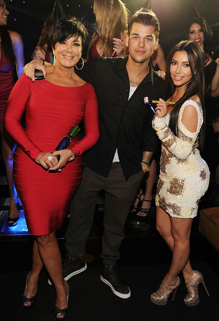 Haute 100 Los Angeles Update: Kardashian Clan Hits Vegas to Celebrate Rob's 25th Birthday