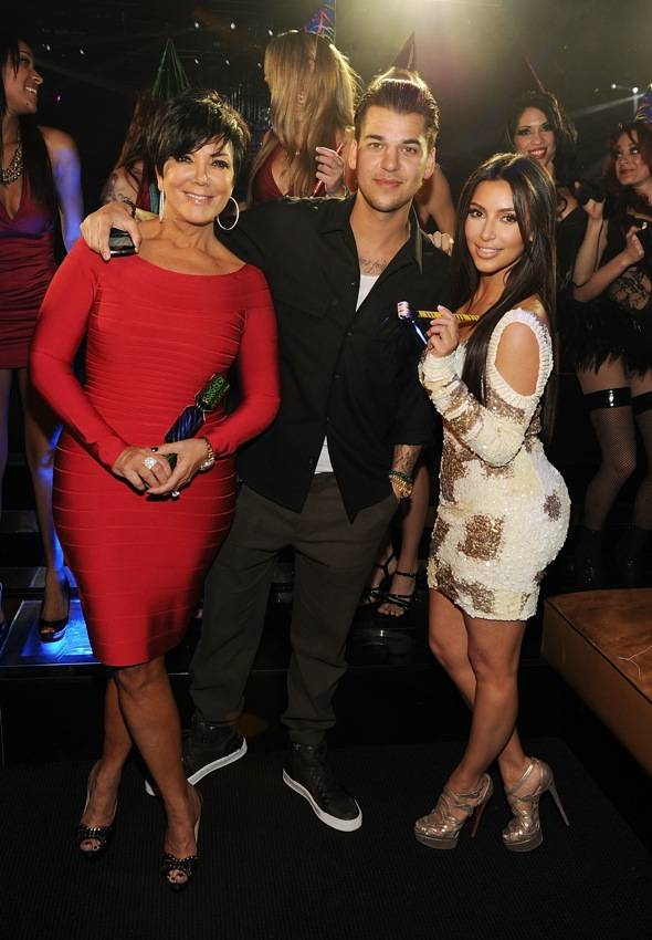 Haute Event: Rob Kardashian Celebrates His Birthday with Kim, Kris, Kendall and Kylie at 1 OAK