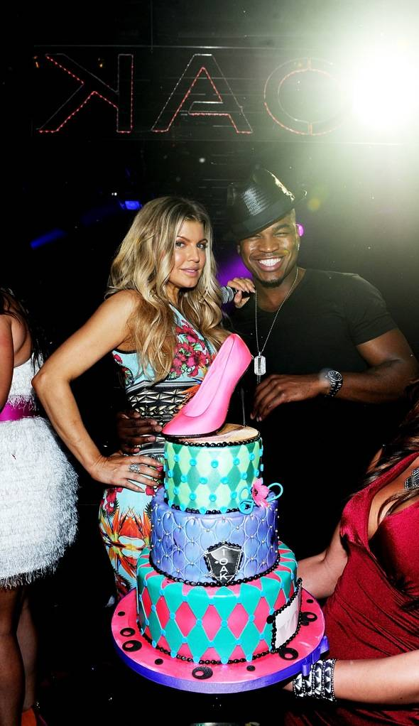 Haute Event: Fergie Celebrates Her Birthday at 1 OAK with Ne-Yo Singing 'Happy Birthday'