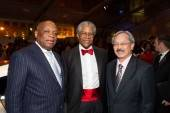 Willie Brown, Harold Brooks and Mayor Ed Lee