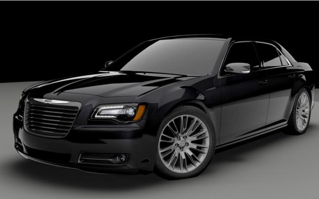 John Varvatos Teams Up With Chrysler To Make a Black on Black 300S
