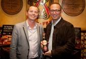 Glenfiddich and brand ambassador Mitch Bechard and Michael Frey, proprietor of Casa Fuente