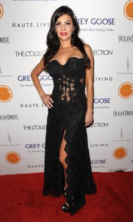Adriana de Moura at The Blacks' Annual Gala
