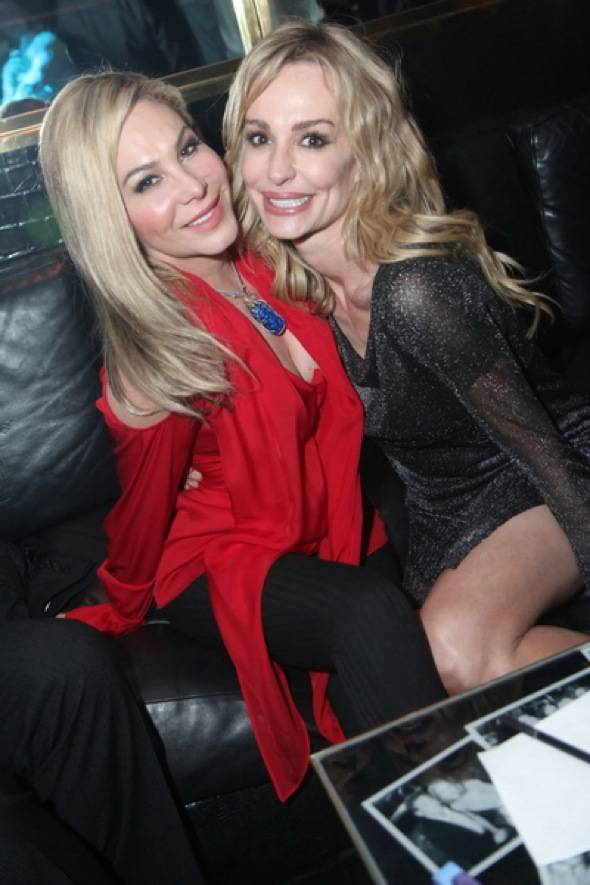 Haute Event: The Real Housewives of Beverly Hills Hang at the Playboy Club, Moon Nightclub