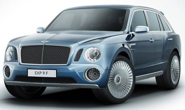 Haute Auto: Bentley Unveils EXP 9 F 4×4