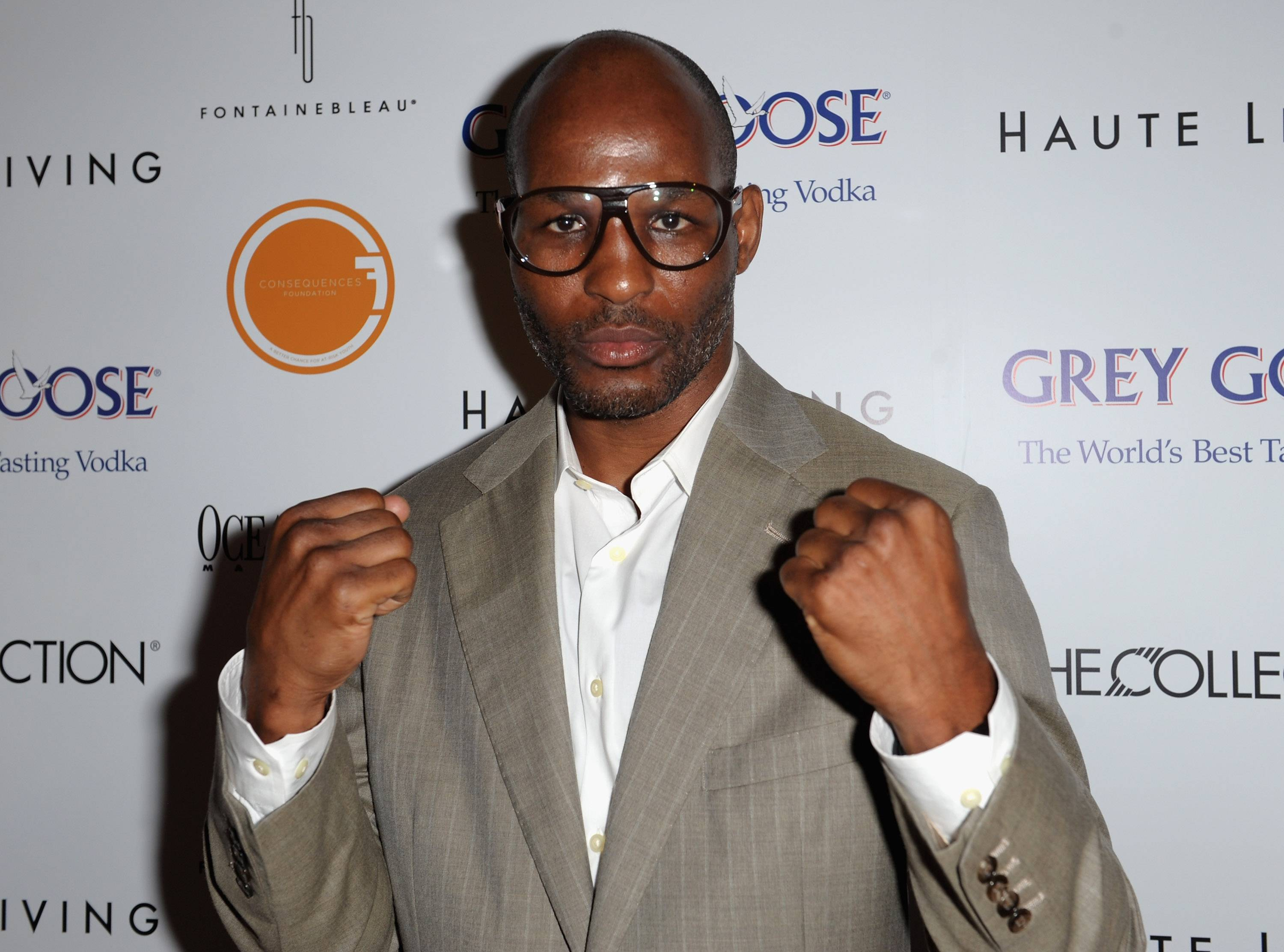 Bernard Hopkins at The Blacks' Annual Gala