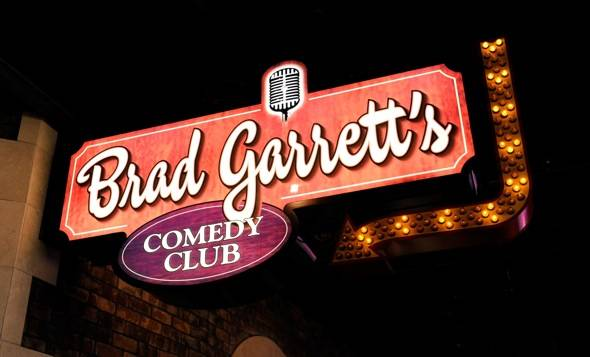 Brad Garrett's Comedy Club VIP Grand Opening at MGM Grand 3.29.12