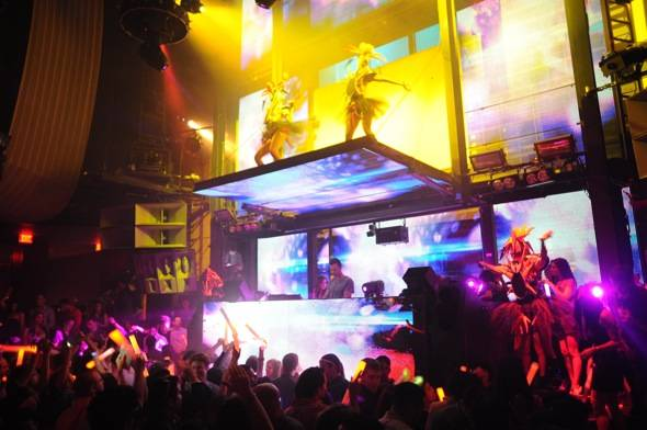 Haute Event: Shaquille O'Neal Kicks Of His 40th Birthday at Tao; The Soundclash at Lavo; Dirty South at Marquee