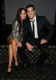 Jesse Metcalfe and Cara Santana at Gallery Nightclub.