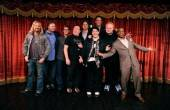 Group Shot of Comedians at Brad Garrett's Comedy Club VIP Grand Opening at MGM Grand 3.29.12