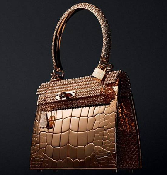 Hermès $1.9 Million Diamond-studded Handbag/Bracelet