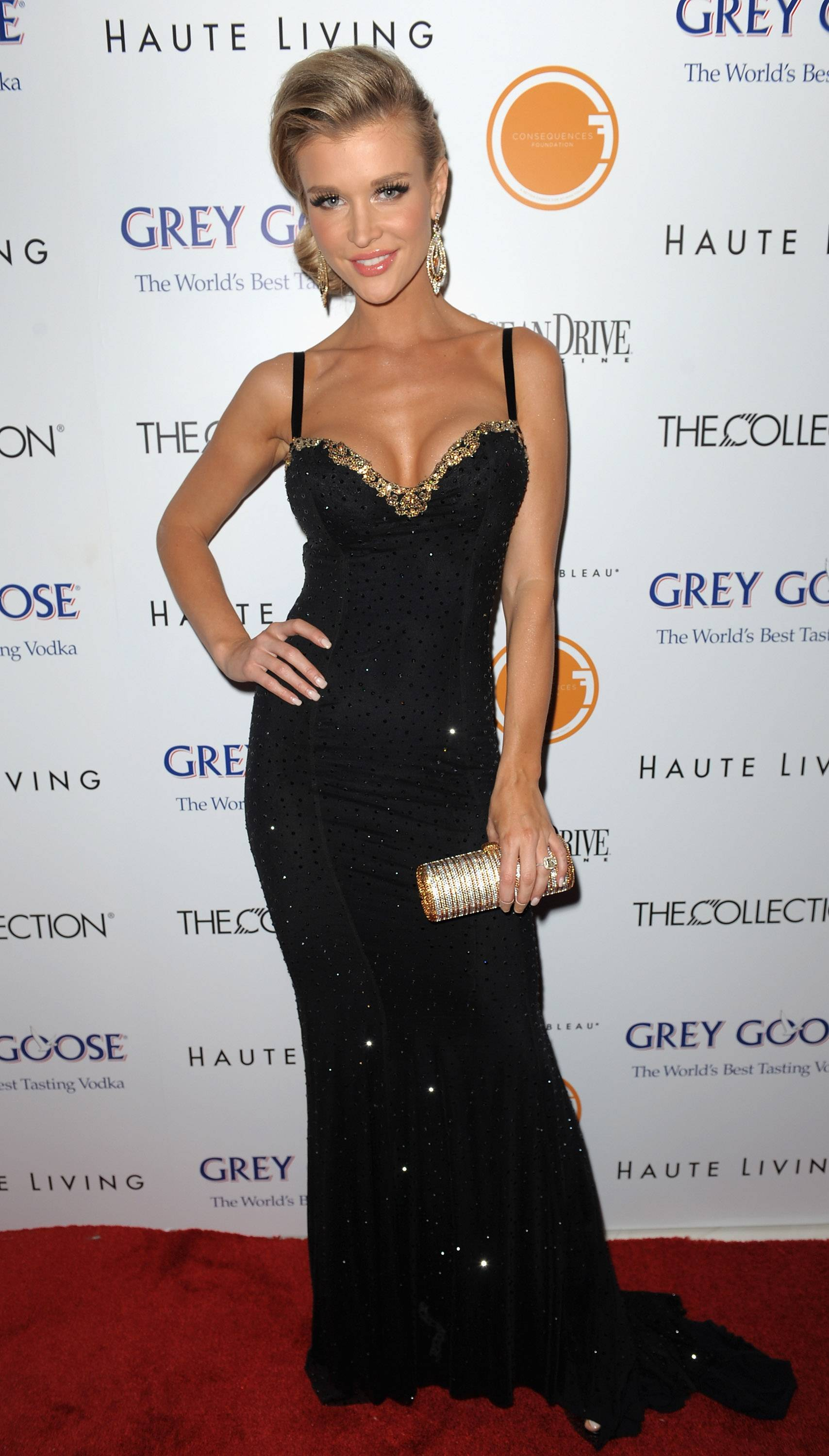Joanna Krupa at The Blacks' Annual Gala
