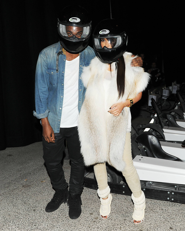 Kim & Kanye Go Karts