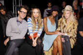 Brad Goreski, Harley Viera-Newton, Jessica White and Byrdie Bell (Photo by Dimitrios Kambouris/Getty Images for Levi's)