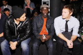 Actors Chaske Spencer, Michael K. Williams and Norman Reedus (Photo by Dimitrios Kambouris/Getty Images for Levi's)