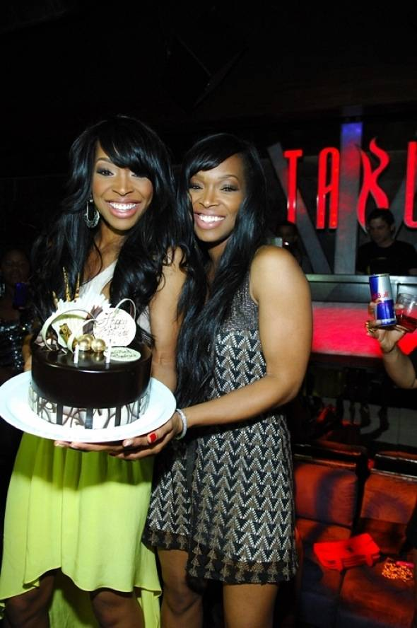 Haute Event: Malika Haqq Celebrates Her 29th Birthday at Tabu