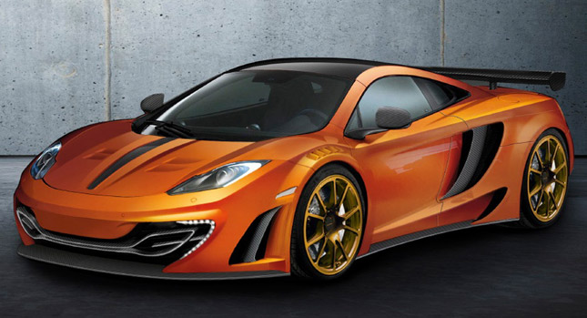 Mansory Unveils McLaren Design for Upcoming Geneva Motor Show