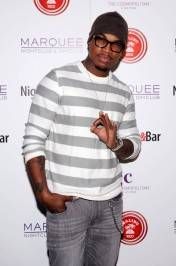 Ne-Yo at Media Wall