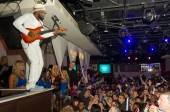Artist and performer, Wyclef Jean, performs at Pure Nightclub