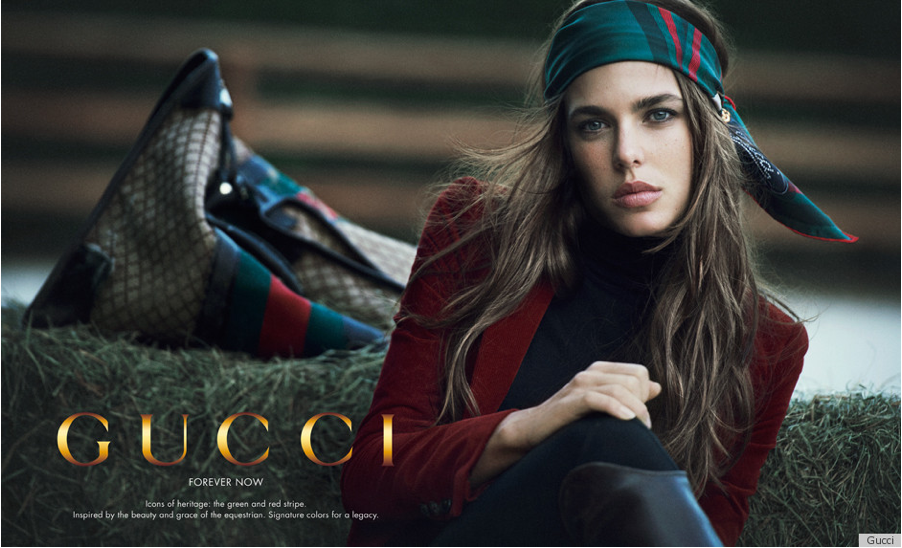 "Charlotte Casiraghi Chosen for Gucci's New ""Forever Now"" Campaign"