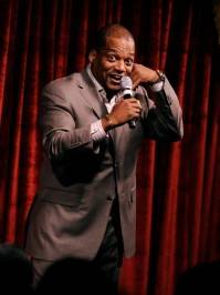 Ralph Harris performs at Brad Garrett's Comedy Club.