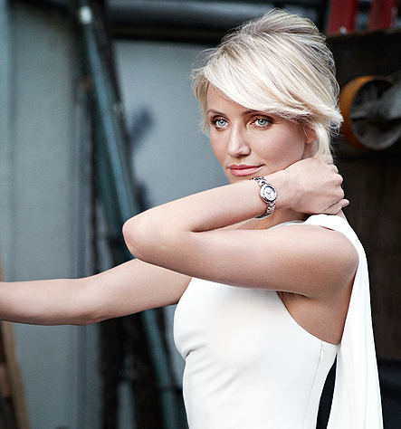 Haute Time: Cameron Diaz Revealed as TAG Heuer's New Link Lady