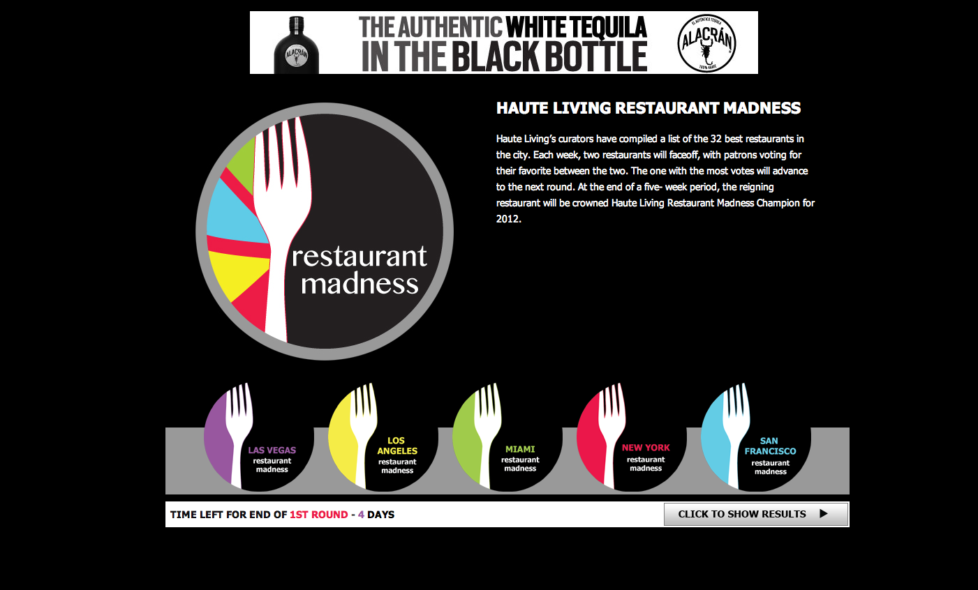 Restaurant Madness: Round Two is LIVE! Vote Now!