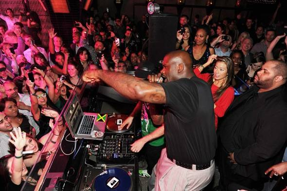 Haute Event: Shaquille O'Neal Celebrates His 40th Birthday at Lavo