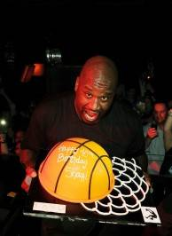 Shaquille O'Neal celebrates his birthday at Lavo.