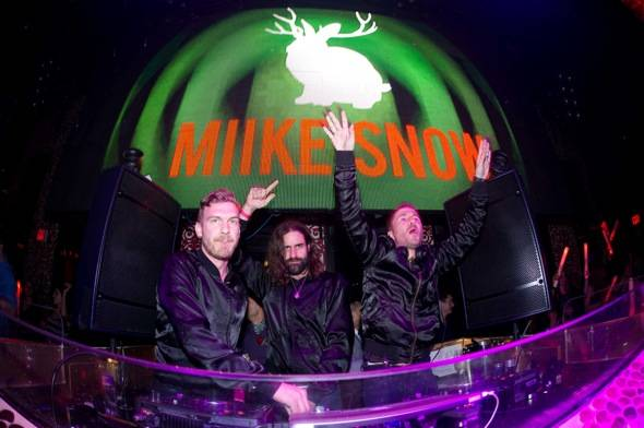 Haute Event: Miike Snow Performs at Tao