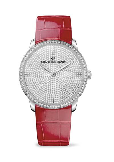 Haute Time: Girard-Perregaux 1966 Jewellery Watch Collection