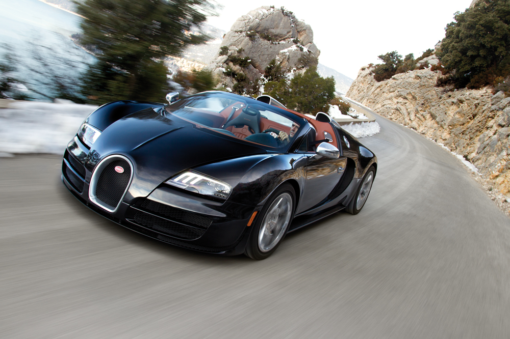 Bugatti Unveils the Fastest Roadster Ever