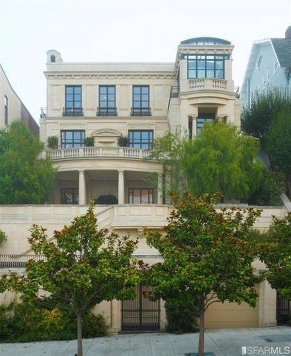 The Most Expensive Home in San Francisco: Peter Sperling's $38.5 Million Mansion