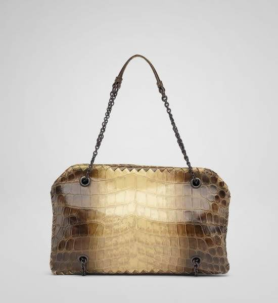 Bottega Veneta Cocco Nature Duo Bag