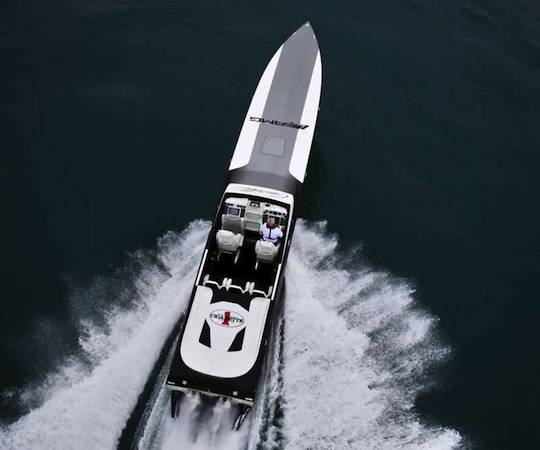 Introducing the Black Series Edition Speedboat