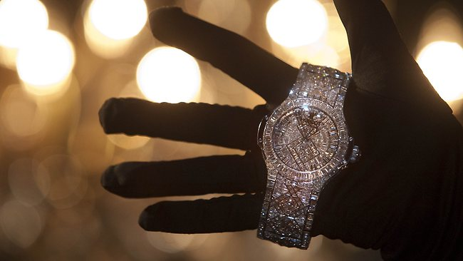 Haute Time: $5 Million Watch From Hublot