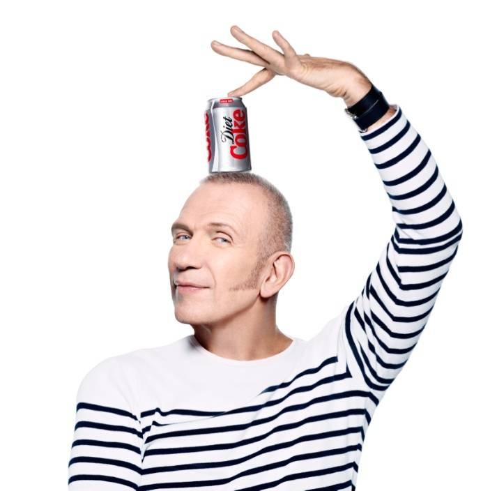 Jean Paul Gaultier Appointed Diet Coke's New Creative Director