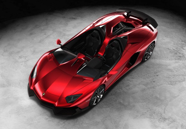 One of a Kind Lamborghini Aventador J Sells For Over $2 Million