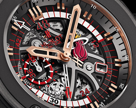 Haute Time: Hublot Limited Edition Miami Heat Watch