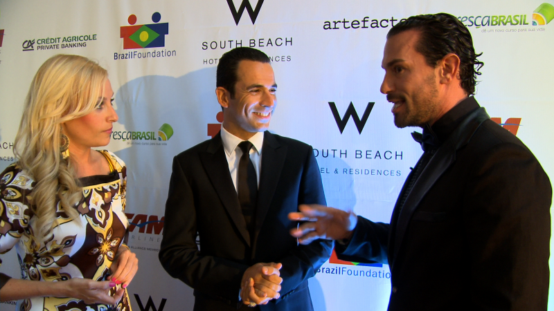 Haute 100 Miami Update: Helio Castroneves Spearheads Brazil Foundation Gala at W SoBe
