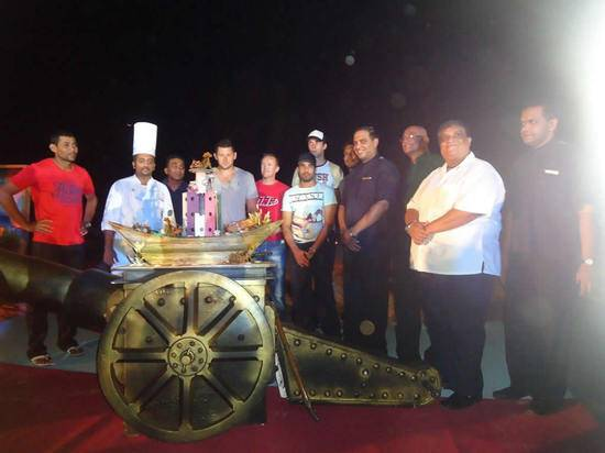 Worlds Most Expensive Cake, $35 Million 'Pirates Fantasy', Unveiled At Heritance Ahungalla