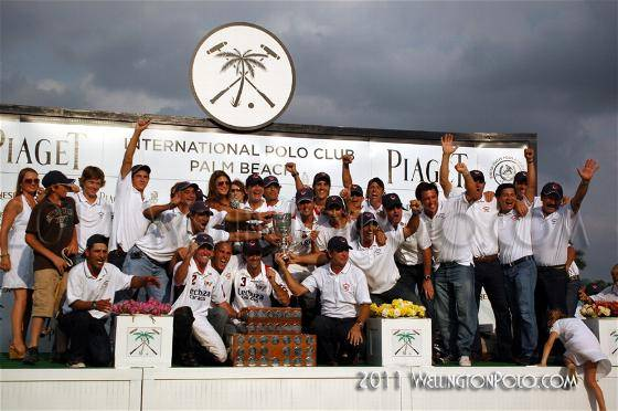 USPA Piaget Gold Cup Played At The International Polo Club Palm Beach